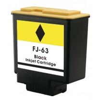 Fj63 Cartuccia Rigenerata Inkjet Nero Per Olivetti Fax Lab 610, 630, 730. Compatibile Con B0702. Codice Cartuccia: Fj63