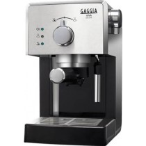 Gaggia Viva Deluxe RI8435/11 Macchina da Caffè Cialde  44mm / Macinato Black / Inox