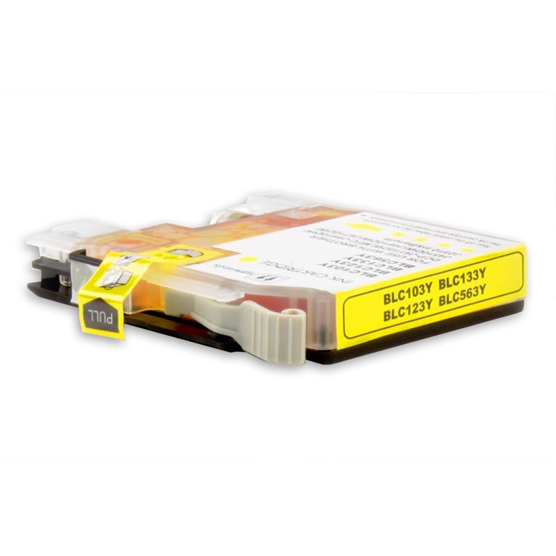 LC-123Y - Cartuccia inkjet compatibile Giallo per MFC J4410DW, MFC J4510DW, MFC J4610DW - Codice Cartuccia LC - 123Y.