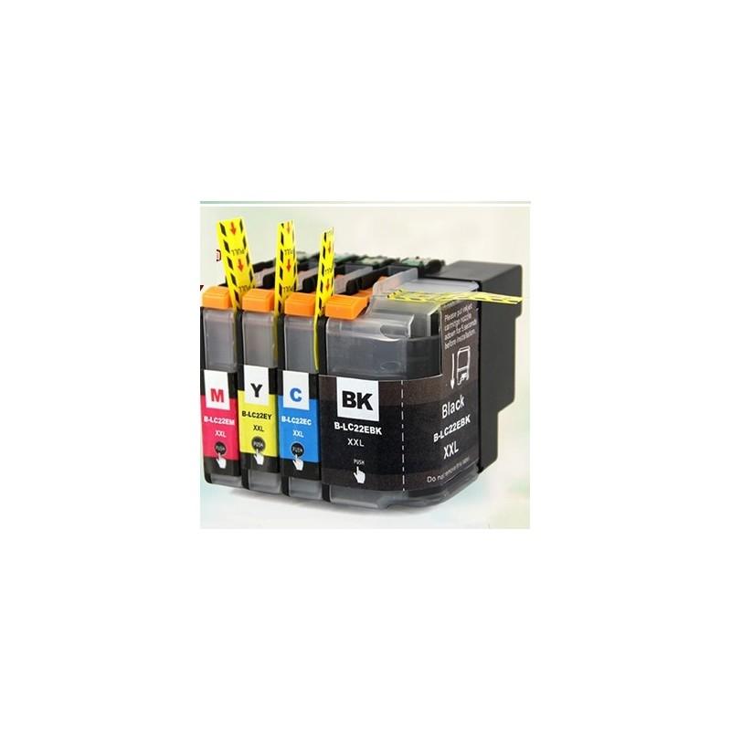 LC-22UC - Cartuccia inkjet compatibile Ciano per MFC-J985DW, DCP-J785DW - Codice Cartuccia LC - 22UC