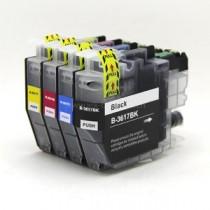 LC-3213C - Cartuccia inkjet compatibile Ciano DCP-J 572 DW, MFC-J 491 DW, 497 DW - Codice Cartuccia LC - 3213C.