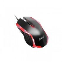 Mouse ADJ Gaming MO556 Kos Mouse - Tecnologia Ottica - Risoluzione da 600 a 1600 DPI - Con illuminazione led e gomma antiscivolo