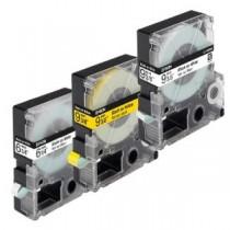 NASTRO GIALLO 12X9MM PER LW300, LW400, LW600, LW700, LW900 #C53S625403