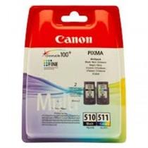 PG-510 - CL-511 - Multipack originale Canon contenente cartuccia nero PG - 510 + cartuccia colore CL - 511 per Canon Pixma MP240