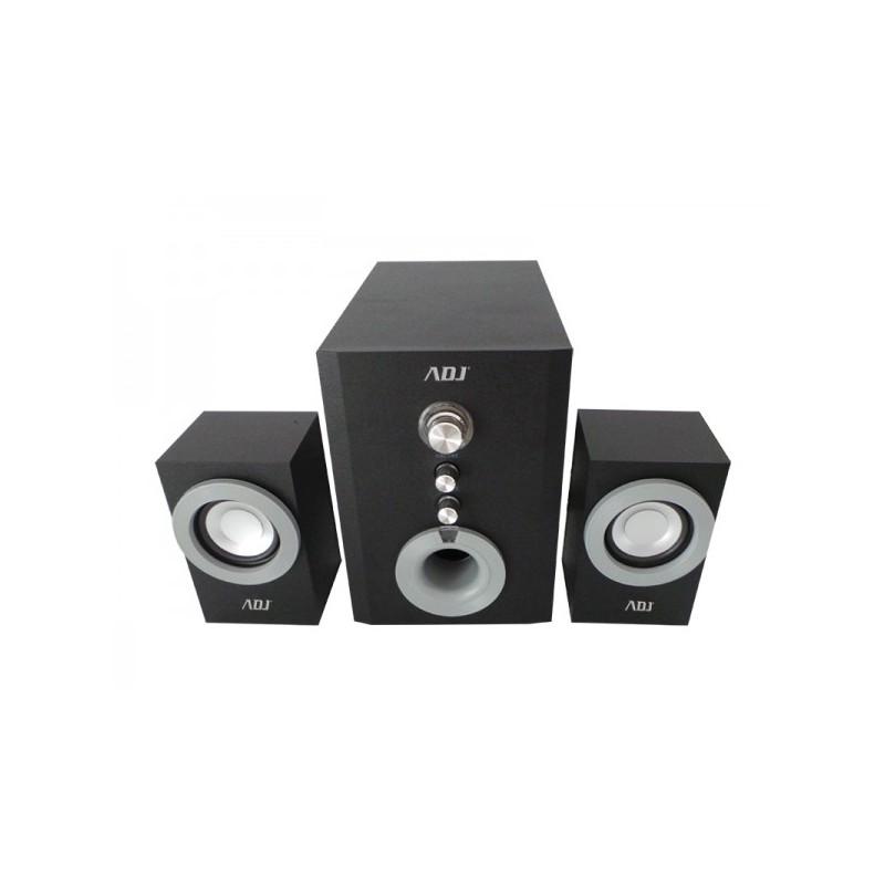 Speaker ADJ SP805 Pop Speaker 2.1 Set - Subwoofer da 4 con suono cristallino ed eccellente qualità dei bassi - Controllo frontal
