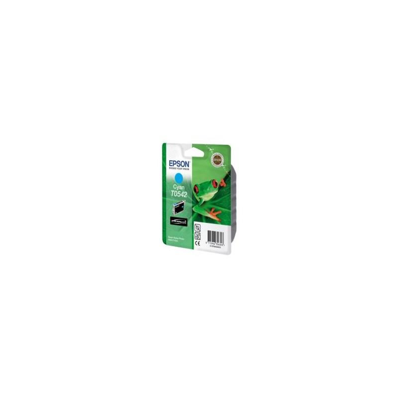 T0542 - Cartuccia originale Epson Photo R800/R1800 - Ciano