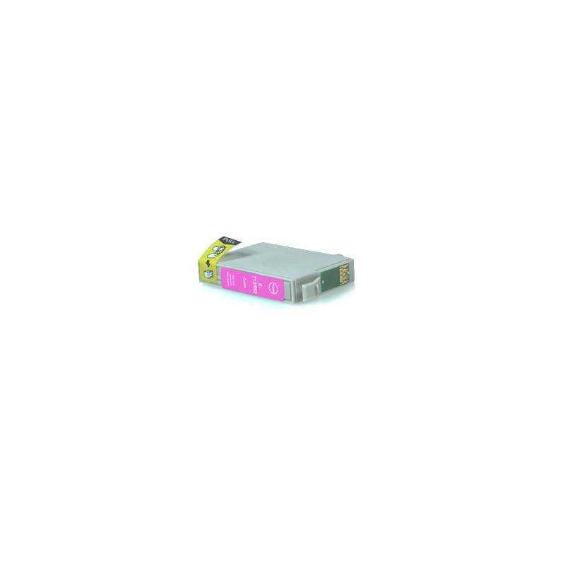 T0713 Cartuccia inkjet Compatibile Magenta per Epson Multifunzione Stylus Sx 200, 205, 400, 400 WI FI, 405. Compatibile con T071