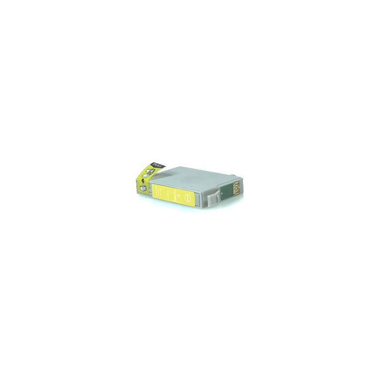 T0714 Cartuccia inkjet Compatibile Giallo per Epson Multifunzione Stylus Sx 200, 205, 400, 400 WI FI, 405. Compatibile con T0714