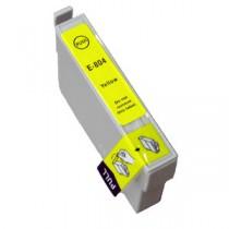T0804 Cartuccia inkjet Compatibile Giallo per Epson Multifunzione Stylus Photo RX 560, RX 585, RX 685, Stylus Photo R265, R285.