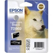 T0969 - Cartuccia Originale Nero Light Light Epson Stylus Photo R2880 . Compatibile con T09694020. Codice Cartuccia T0969.