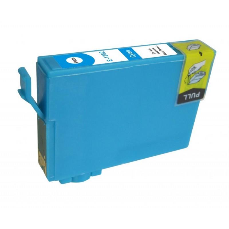 T1282 Cartuccia inkjet Compatibile Ciano per Epson Stylus Color S 22, Multifunzione Stylus Office BX 305F, Multifunzione Stylus