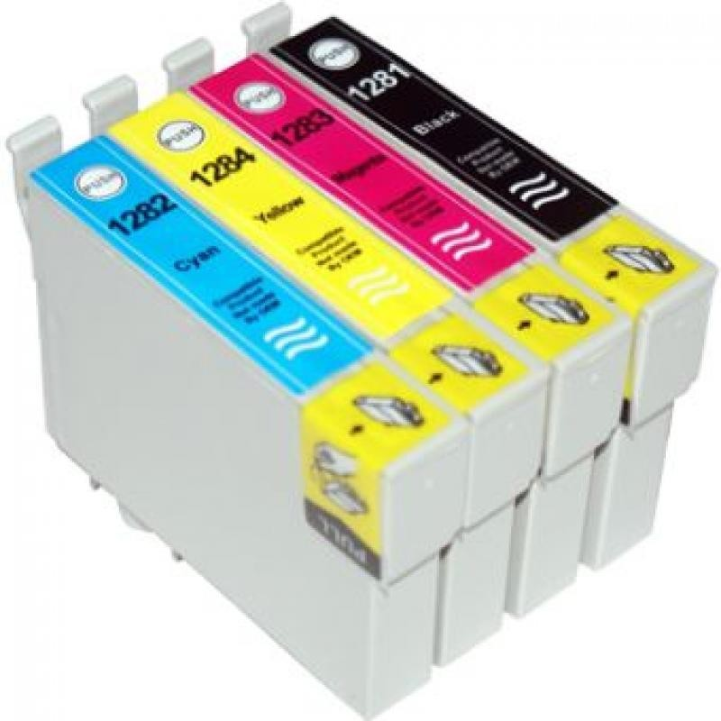 T1285 MULTIPACK composto da n.1 Cartuccia T1281 + T1282 + T1283 + T1284 Color S 22, Multifunzione Stylus Office BX305F, Multifun
