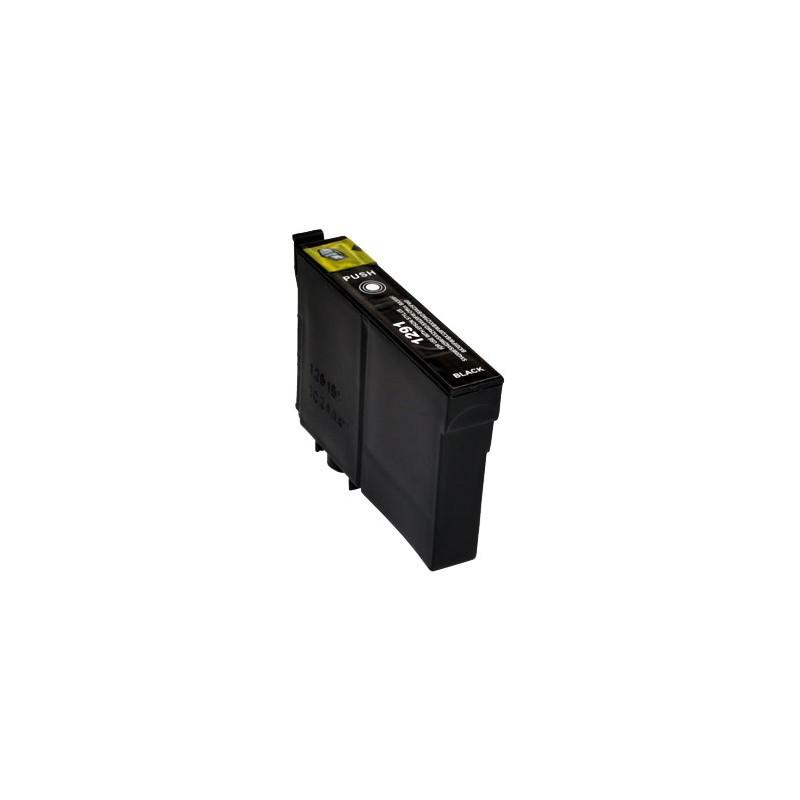 T1291 Cartuccia inkjet Compatibile Nero per Epson Multifunzione Stylus Office BX 305F, Multifunzione Stylus Sx 420 W, Multifunzi