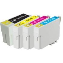 T2712 - 27XL - Cartuccia inkjet compatibile Ciano per Workforce WF3620DWF, WF3640DTWF, WF7110DTW, WF7610DWF, WF7620DTWF.