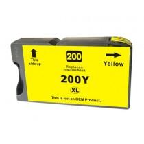 200XL - Cartuccia inkjet Giallo compatibile per Lexmark Office Edge Pro 4000, 4000C, 5500, 5500T.