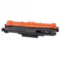 TN-247BK - Toner rigenerato Nero senza chip per Brother HL-L 3210 CW , MFC-L 3770 CDW .