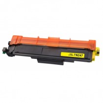 TN-247Y - Toner rigenerato Giallo senza chip per Brother HL-L 3210 CW , MFC-L 3770 CDW .