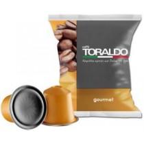 Toraldo Capsule Compatibili Nespresso Gourmet 100% Arabica 100pz