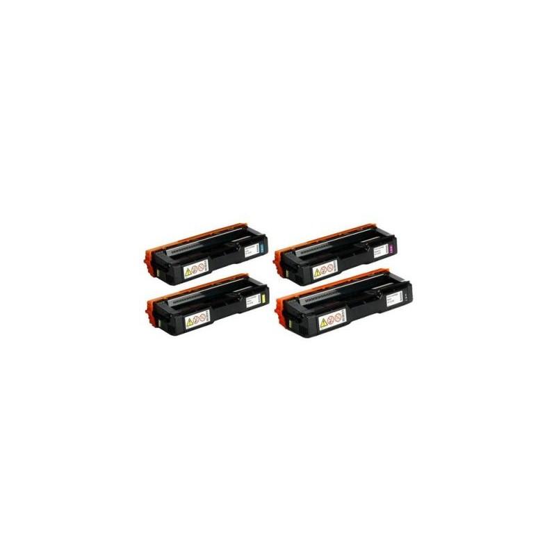 407716 - Tipo SP C252HE - Toner rigenerato Nero per Ricoh Aficio Sp C252 DN.