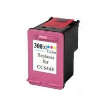 300XL Cartuccia Rigenerata Inkjet a Colori Per Deskjet D2560, F4280, F4224 Aio, F4210 Aio, F4272 Aio. Compatibile Con Cc644ee. C