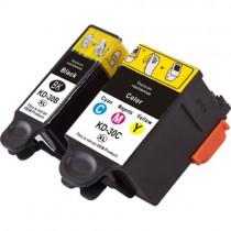 30XLC - Cartuccia rigenerata inkjet a colori per Kodak Esp 1.2, 3.2, C110, C310, C315.