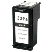 339 Cartuccia Rigenerata Inkjet Nero Per Deskjet Photo 5940, Deskjet 5740, Photosmart 8150 Xi, 8450 Gp, 8450 Xi. Compatibile Con