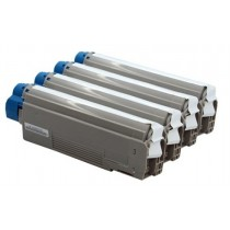 43865731 - Toner rigenerato Ciano per Oki ES2232, ES2632, ES5460MFP
