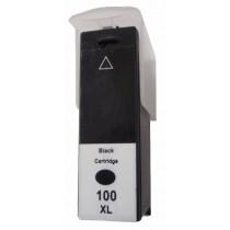 100XL Cartuccia inkjet Nero Compatibile per Lexmark Serie Pro (All In One) 205 PROSPE, 705 PREVAI, 805 PRESTI, 905 PLATIN, Serie