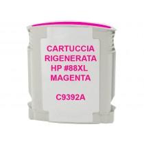 88XL Cartuccia inkjet monouso rigenerata Magenta per HP Officejet PRO K550, PRO K5400, PRO L7400, PRO L7580, PRO L7680. Compatib
