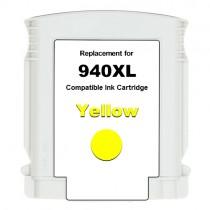 940XL Cartuccia inkjet rigenerata Giallo con Chip, per HP Officejet PRO 8000, PRO 8000 W, PRO 8500, PRO 8500 W. Compatibile con