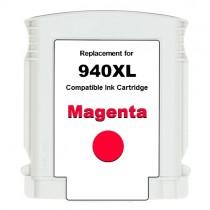 940XL Cartuccia inkjet rigenerata Magenta con Chip, per HP Officejet PRO 8000, PRO 8000 W, PRO 8500, PRO 8500 W. Compatibile con