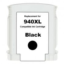 940XL Cartuccia inkjet rigenerata Nera con CHIP per HP Officejet PRO 8000, PRO 8000 W, PRO 8500, PRO 8500 W. Compatibile con C49