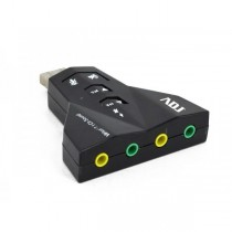 AN012 Scheda audio ADJ 3D sound 7.1 - USB 2.0 - Home Series