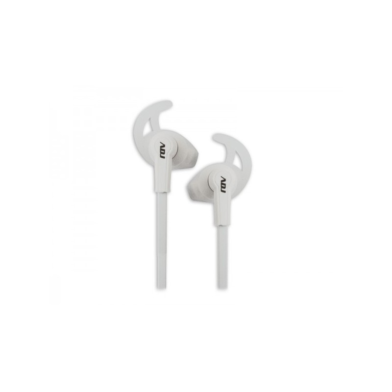 Auricolare ADJ CF176 Midnight Earphone colore bianco con Microfono - Buona riduzione del rumore dall\'ambiente circostante e per